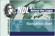 NDL UNDERWATER NAVIGATION – ориентирование под водой