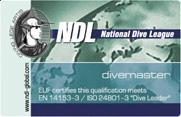 NDL DIVEMASTER – первый профессиональный статус
