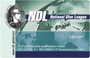 Как выглядит сертификационная карта NDL