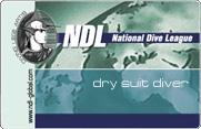 NDL DRY SUIT DIVER – техника плавания в сухом гидрокостюме