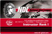 Инструктор NDL I ранга