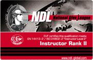 Инструктор NDL II ранга
