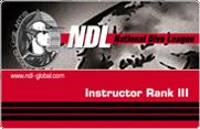 Инструктор NDL III ранга